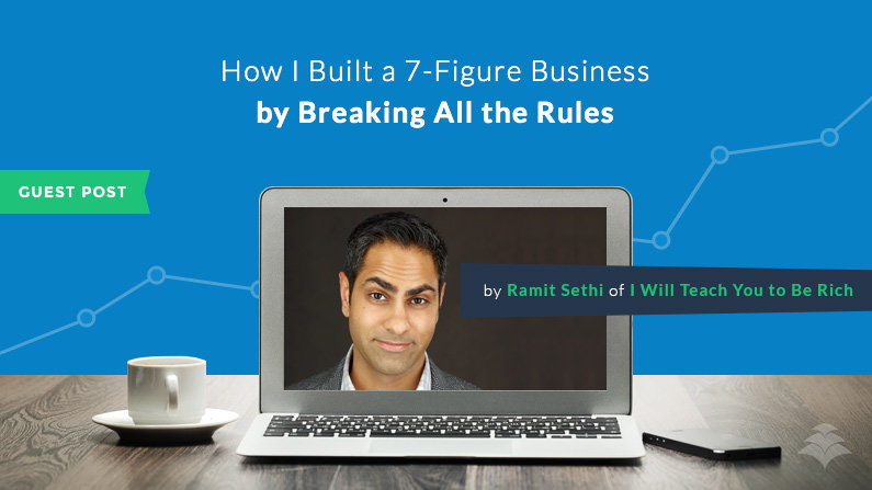 Ramit Sethi: How I Built a 7-Figure Business by Breaking All the Rules