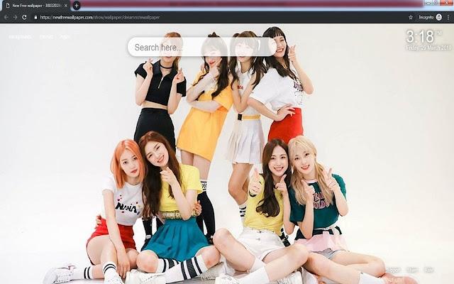 Dreamnote kpop wallpaper HD new tabs