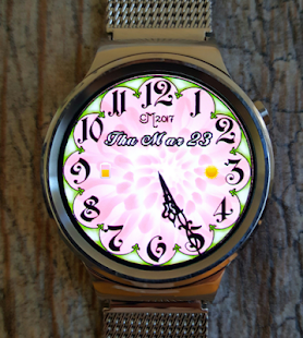 Chrysanthemum Watch Face - náhled
