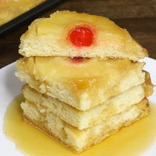 Easy Sheet Pan Pineapple Upside Down Pancakes (with Video).