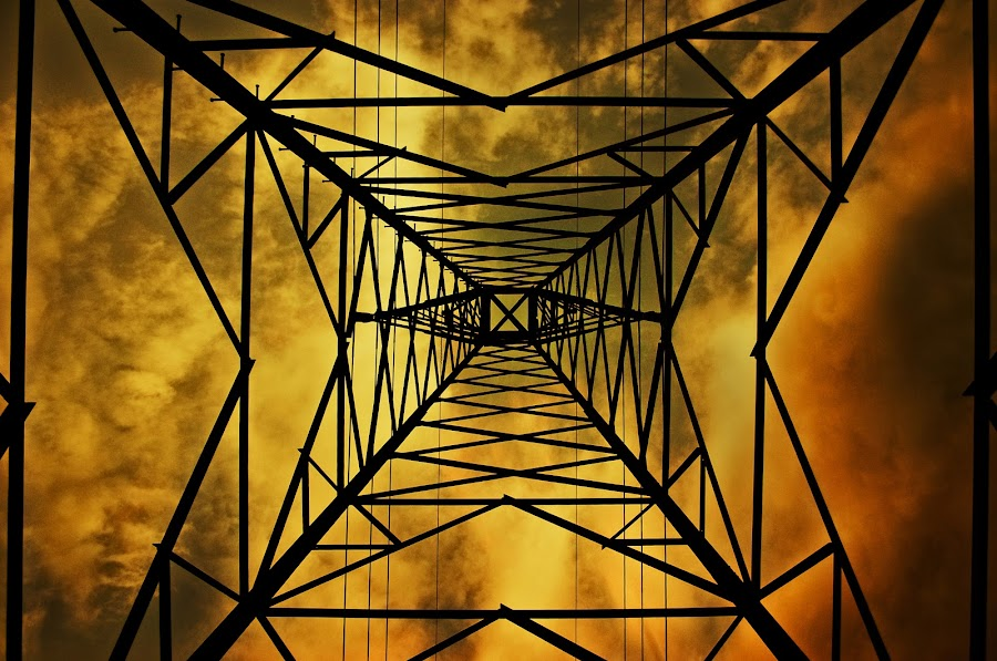 Raw Power. by Douglas Simkin - Landscapes Weather