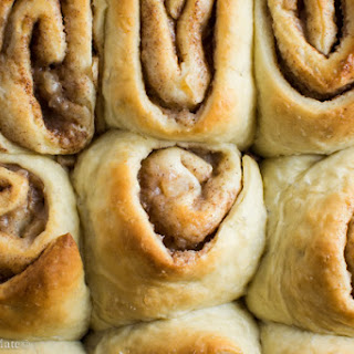 Pear Pie Cinnamon Rolls