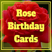 Rose Birthday Cards (Real Rose Pictures)