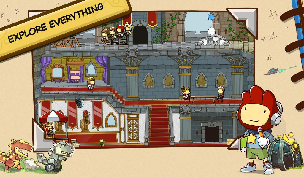 Scribblenauts Unlimited screenshot #2