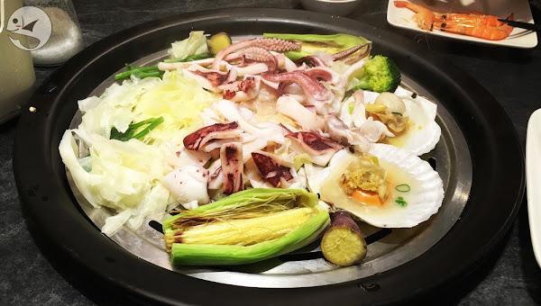 漉 海鮮蒸氣鍋,台北松江南京,蒸氣現煮的鮮美海鮮料理