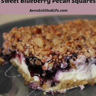 Sweet Blueberry Pecan Squares