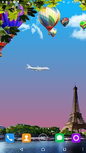 Hot Air Balloons LWP screenshot