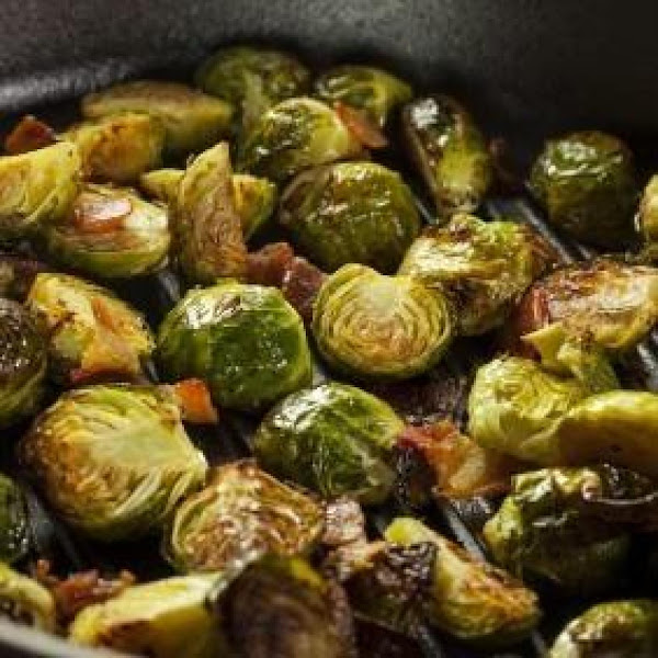 Roasted Brussels Sprouts With Balsamic Reduction Recipe