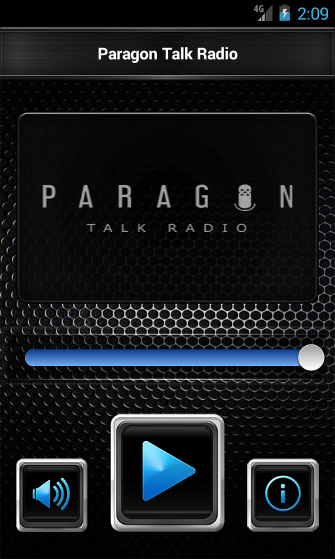 Paragon Talk Radio- screenshot