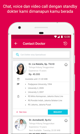 Halodoc - Doctors, Medicine & Labs 3.600 screenshots 5