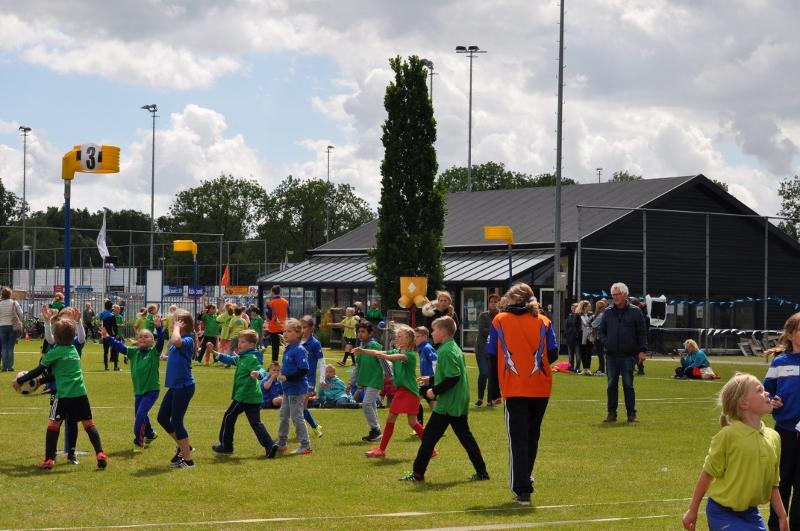 Foto schoolkorfbaltoernooi 2017