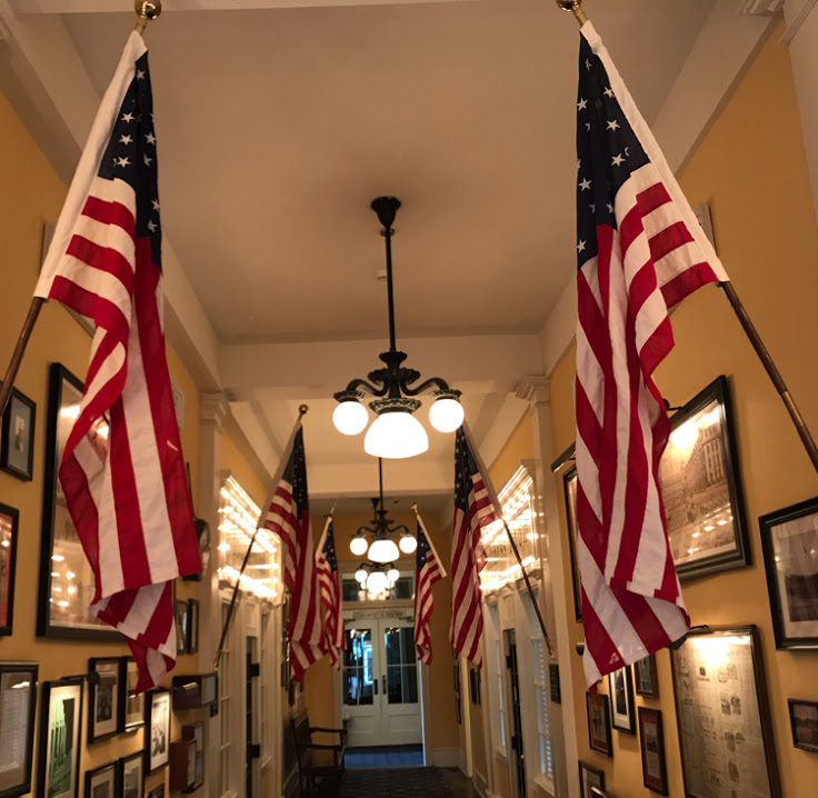 "Congress Hall's ""Hallway of History"""