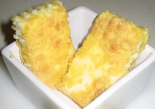 Cheesy Lemon Bars Recipe