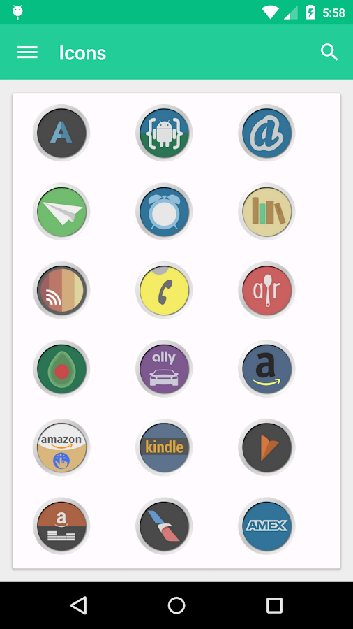 Spectra Icon Pack- screenshot