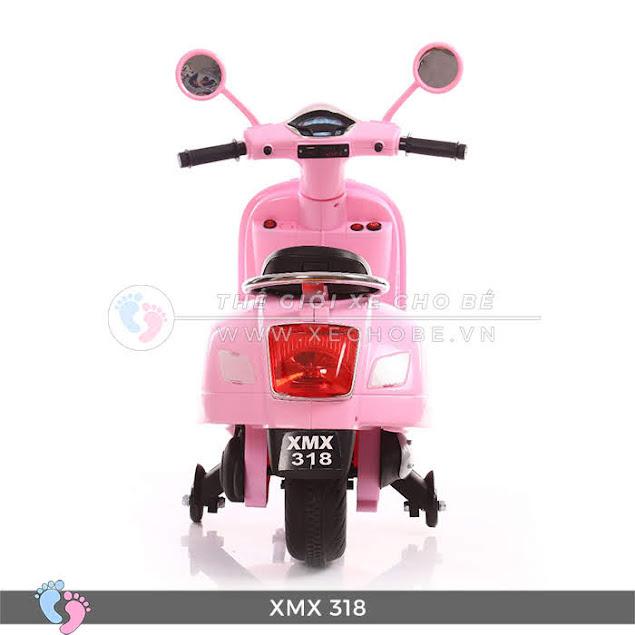 xe máy điện vespa cho bé gái