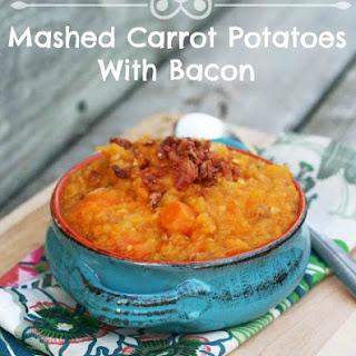 Mashed Carrot Potatoes With Bacon