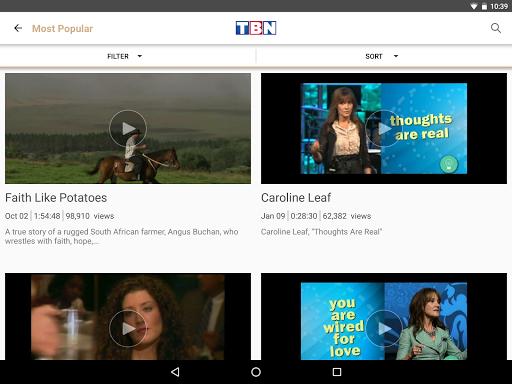 玩免費遊戲APP|下載TBN: Watch TV Shows & Live TV app不用錢|硬是要APP