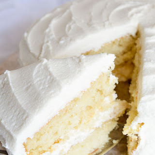 Buttermilk Vanilla Cake Recipe From Scratch.