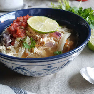INSTANT POT MEXICAN CABBAGE SOUP.