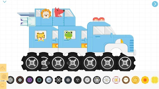 Brick Car(4+)-Top Car Build & Racing Game For Kids Screenshot