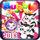 Bubble Shooter Pet Raccoon