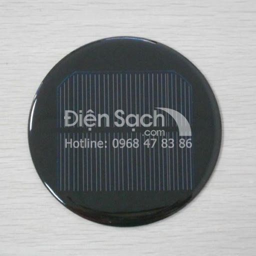 Tấm Pin hình tròn đường kính 150mm