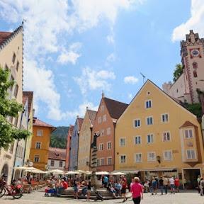 ロマンチック街道のフィナーレを飾るフュッセンには「ロマンチック街道の終点」という場所があるって知ってた?