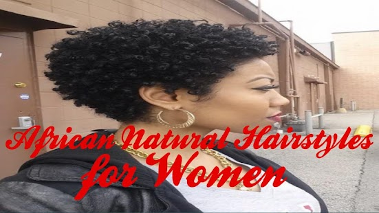 African Natural Hairstyles for Women - náhled