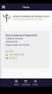 Peace Lutheran of Pigeon Falls - Pigeon Falls, WI - náhled