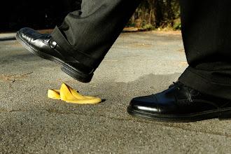 Photo: Man vs Banana