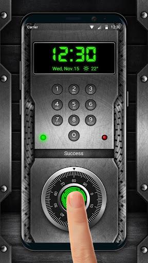 Password fingerprint style lock screen for prank 9.3.0.2041 screenshots 2