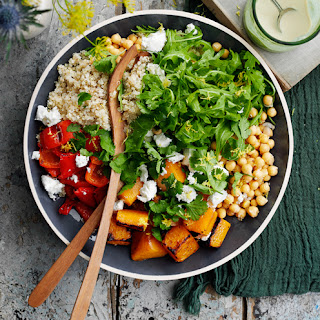 Butternut Squash and Chickpea Salad.