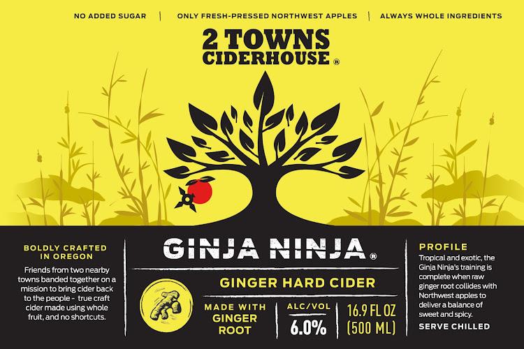Logo of 2 Towns Ciderhousde - Ginja Ninja
