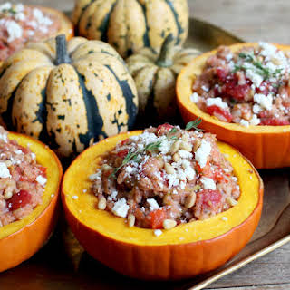 Syrian Stuffed Pumpkins.
