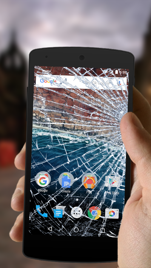 Broken Screen Prank- screenshot