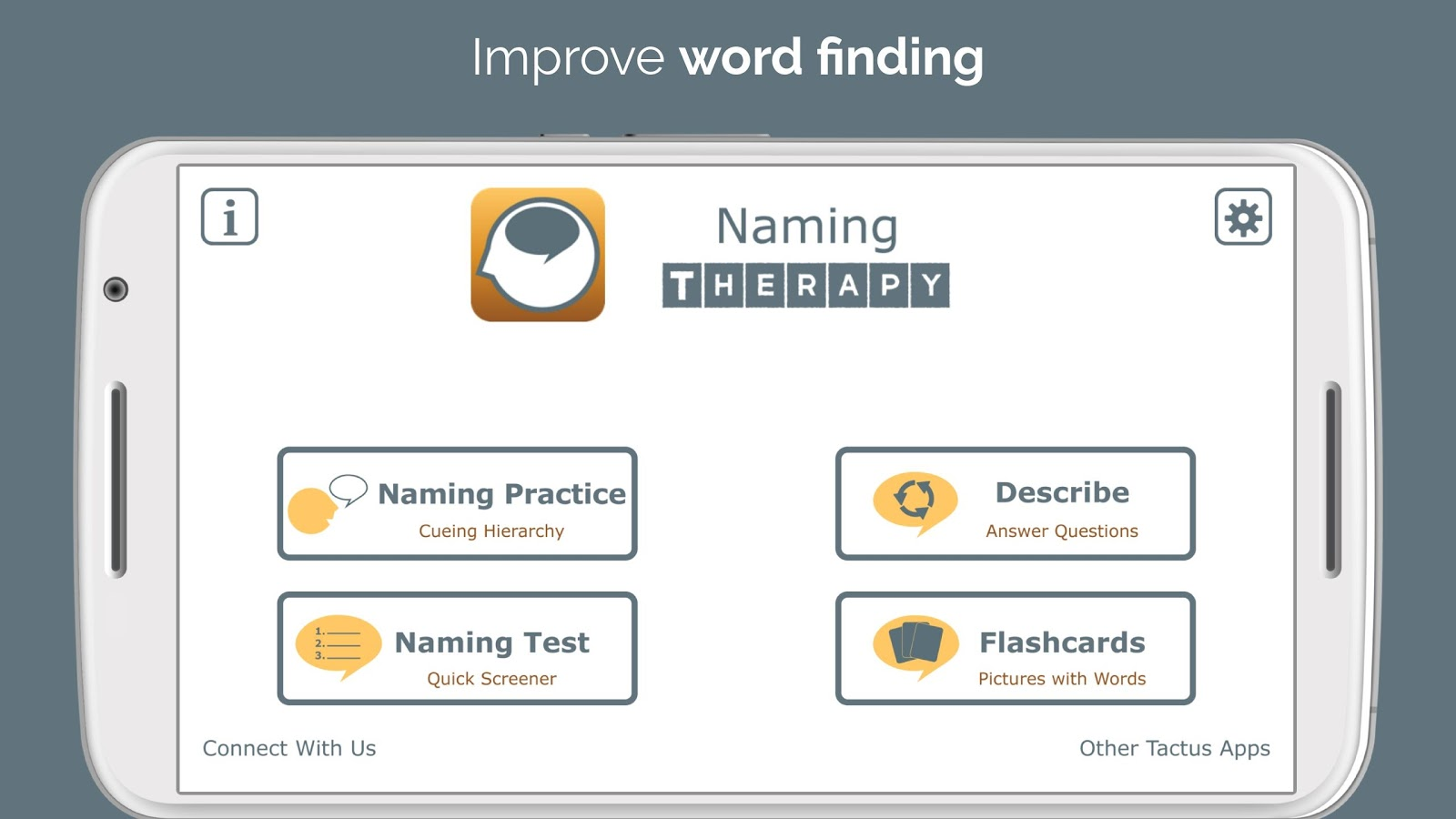 Naming Therapy- screenshot
