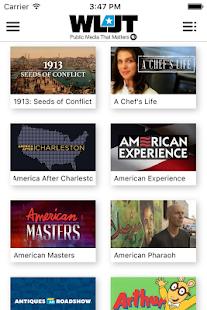 WLJT Public Media App - náhled