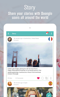 Meet foreign friends app