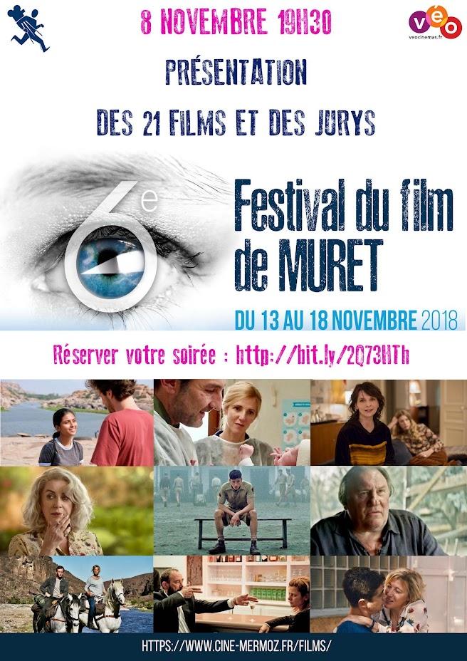 Présentation des films du Festival du Film de Muret