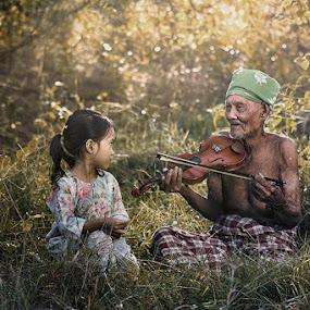 my grandPA by R'zlley TheShoots - Babies & Children Children Candids