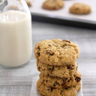 Eggless Oatmeal Raisin Cookies.