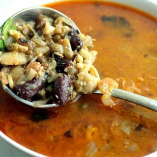 Pressure Cooked 16 Beans Kolhapuri Usal