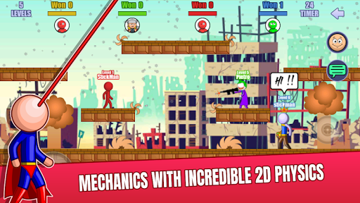 Stick Fight Online: Multiplayer Stickman Battle 2.0.29 screenshots 23