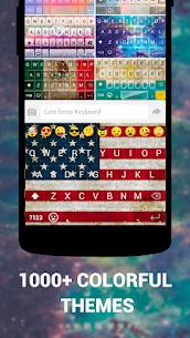 Emoji Keyboard Cute Emoticons Apk- Theme, GIF, Emoji 3