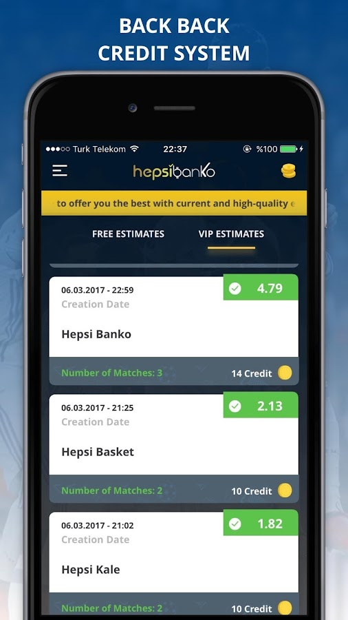 Hepsi Banko- screenshot