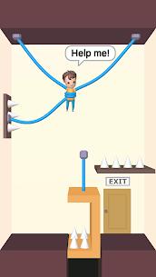 Rescue Cut – Rope Puzzle MOD (Unlimited Hints) 1