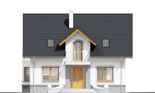 Dom Dla Ciebie 1 bez garażu B - Elewacja przednia