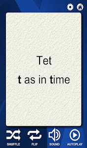 Hebrew Alphabet Flash Cards screenshot 3