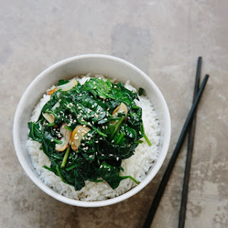 How To Stir-Fry Spinach with Garlic.