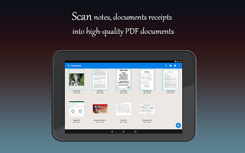 Fast Scanner : Free PDF Scan App Download For Android and iPhone 6
